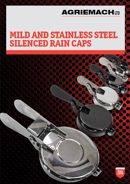 Mild and Stainless Steel Silenced Rain Caps Catalogue