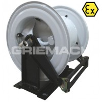 High Capacity Bare Fuel Hose Reel