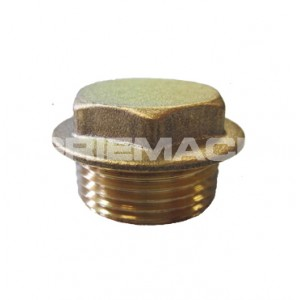 Flanged Plug Brass Pipe Fittings