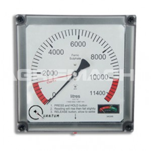 Quantum Battery Operated Hydrostatic Fuel Tank Gauge