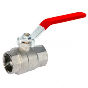 Red Handle Lever Ball Valve