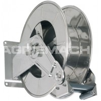 Stainless High Capacity Bare Fuel Hose Reel