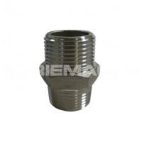 Stainless Steel Hex Nipple