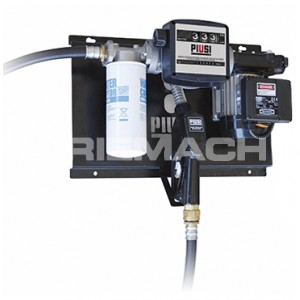 Piusi Wall Mounted Diesel Transfer Pump + Filter