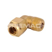 Brass Flare Elbow x M Oil Line Fittings