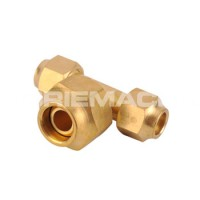 Brass Flare Tee Oil Line Fittings