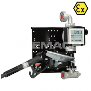 Piusi Wall Mounted EX50 Fuel Transfer ATEX Pump
