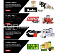 Parker | Racor | Baldwin | Fleetguard | MANN Filters - www.firstforfilters.co.uk