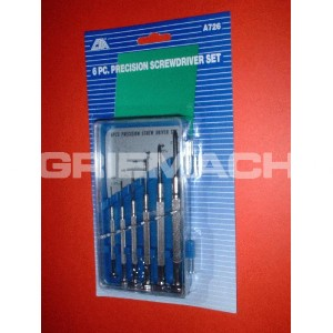 Screwdriver - 6 Pc Precision Screwdriver