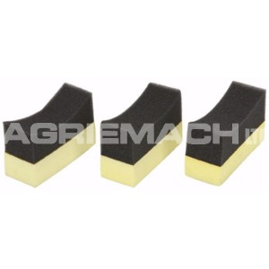 3 Piece Tyre Cleaner Sponge Set