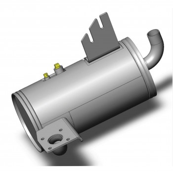 Catalytic Exhaust Silencer