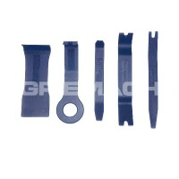 5 Pc Auto Body Upholstery Remover Kit