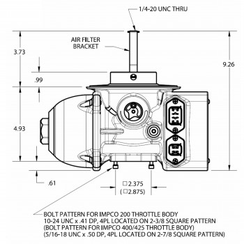 Egc2/egc4 Electronic Gas Carburetor