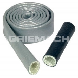 "Thermotec Heat Sleeve 1"" X 10ft - Silver"