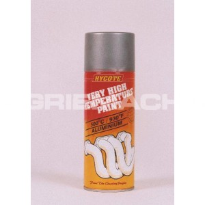 High Temperature Paint - Silver - 400 Ml