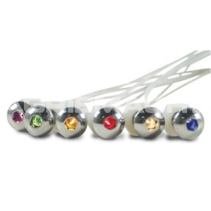 Lighted Buttonhead Bolts - White