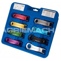 Fuel/air-con/heater Disconnect Tool 8pc