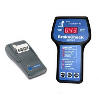 Option 4 - Brakecheck (inc Portable Printer, Pc Software)