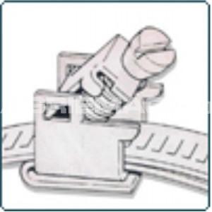 Thermotec Snap Strap Flip Lock Screw - For Custom Cut