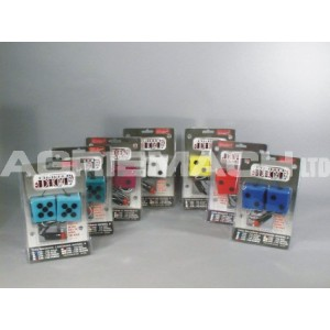Lighted Hanging Dice - Red