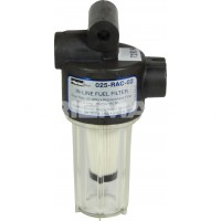Petrol Fuel Filter (10 Micron / In-Line)