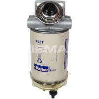 Diesel Fuel Filter (10 Micron / Clear Bowl)