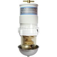 Diesel Fuel Filter (10 Micron / Clear Bowl & Heat Shield)