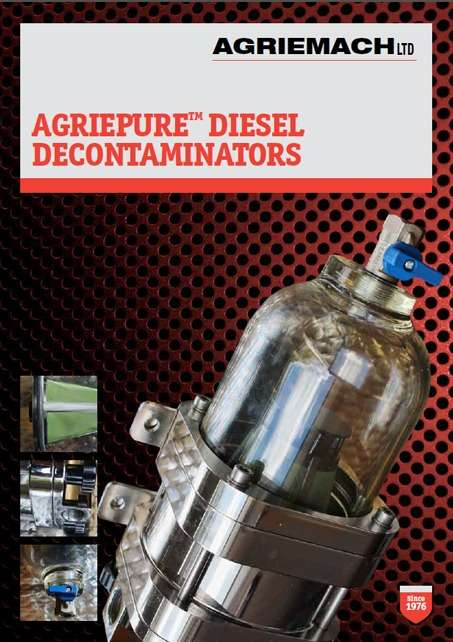 Agriepure Diesel Decontaminator Catalogue